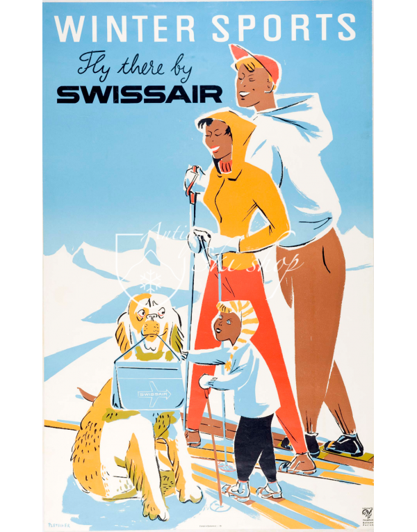 WINTER SPORTS - SWISSAIR