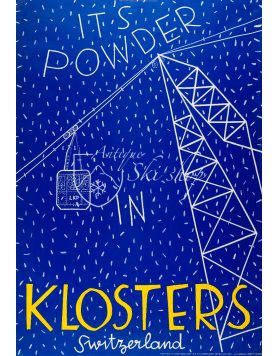 IT'S POWDER IN KLOSTERS (Print)