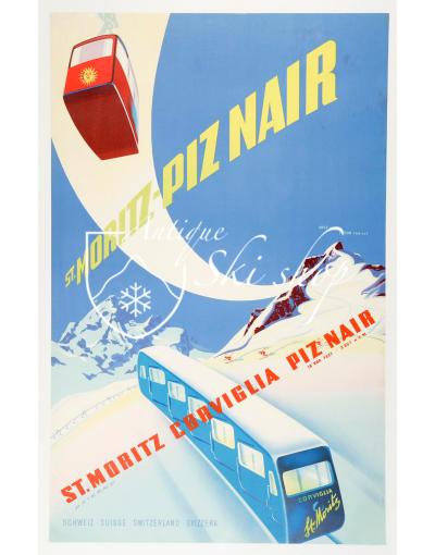 PIZ NAIR - ST. MORITZ  (Print)