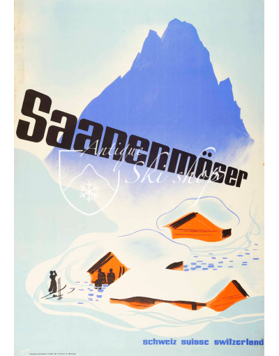 GSTAAD - SAASENMOSER (Print)