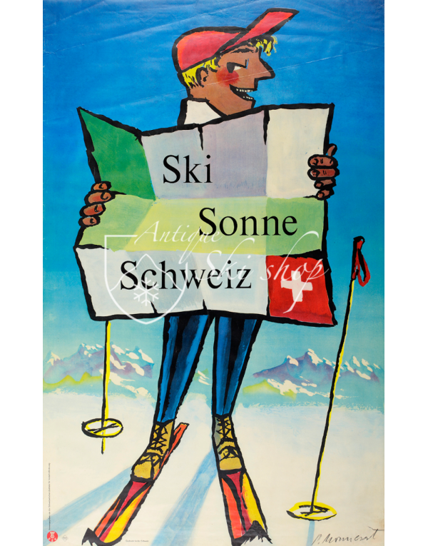 SKI-SUN-SWITZERLAND (Print)