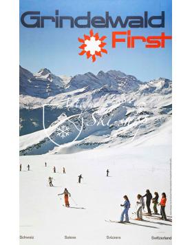 GRINDELWALD FIRST (Print)