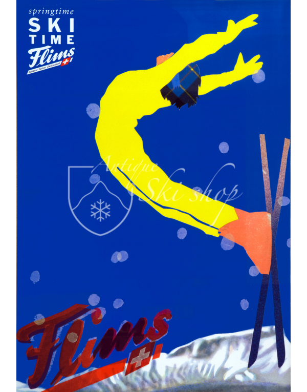 FLIMS: SKI TIME (Print)