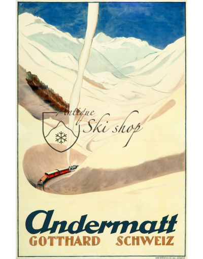 ANDERMATT (Nr. 2) Print