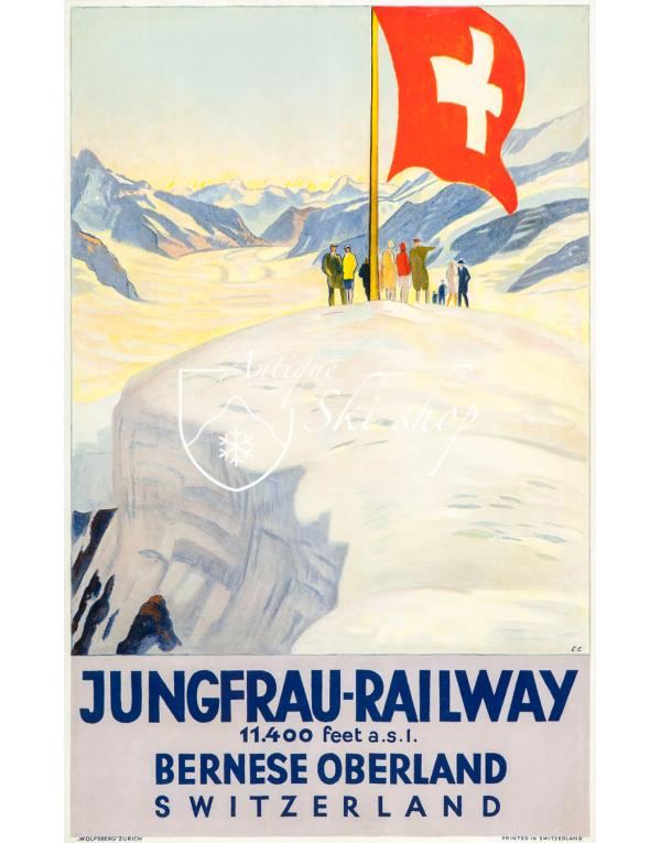 JUNGFRAU RAILWAY (Print)