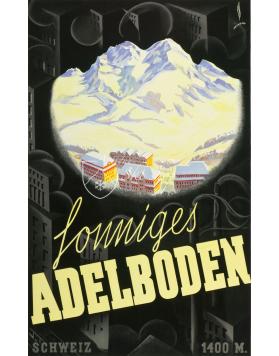 SUNNY ADELBODEN  (Print)