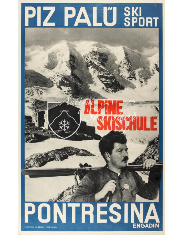 PONTRESINA - PIZ PALU (Print)