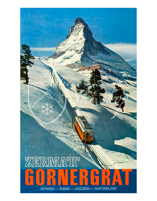 ZERMATT - GORNERGRAT (Print)