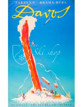 DAVOS, PARSENN BRAMA-BUEL (Print)