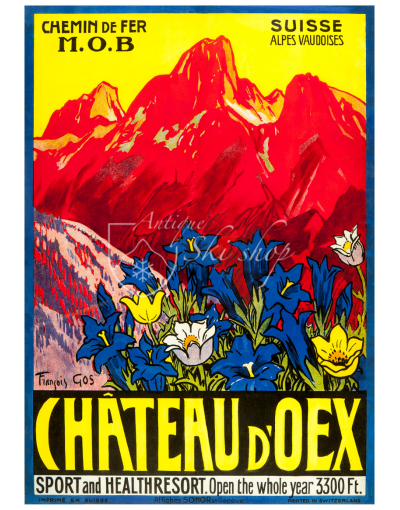 CHATEAU D'OEX (Print)