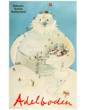 "ADELBODEN ""SNOWMAN"""