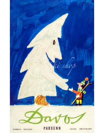 DAVOS PARSENN: SNOW TREE