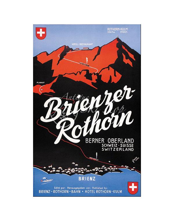 BRIENZER ROTHORN (Print)
