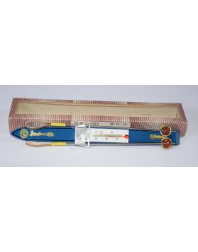 NOS - Antique Ski & Pole Thermometer