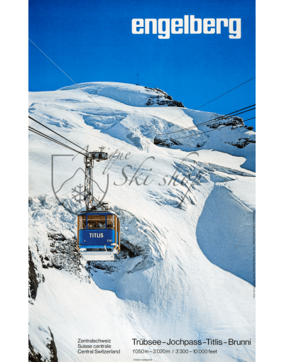 ENGELBERG (Cable Car) Print