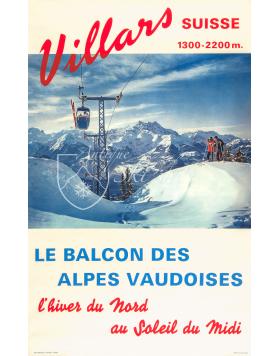 VILLARS (Le Balcon des Alpes Vaudoise) Print