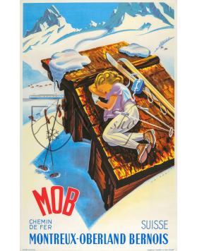 MONTREUX-OBERLAND BERNOIS (Print)
