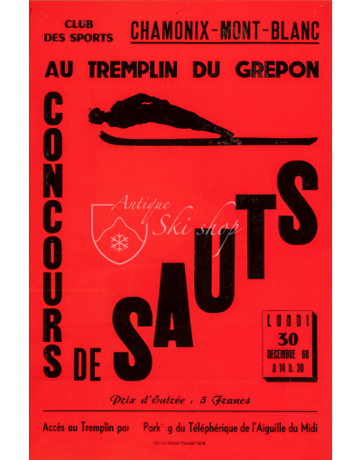 CONCOURS DE SAUTS - CHAMONIX