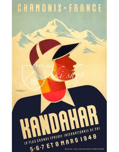 CHAMONIX - KANDAHAR 1948