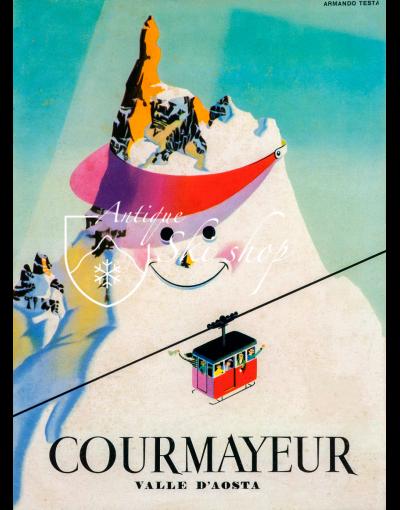 COURMAYEUR - VALLE D'AOSTA (Print)