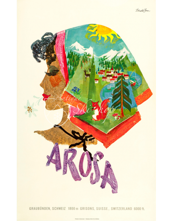 AROSA - KERCHIEF SUMMER SCENES
