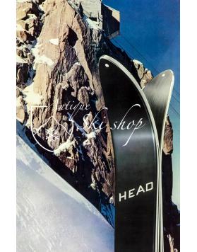 Vintage Ski Poster : HEAD SKIS