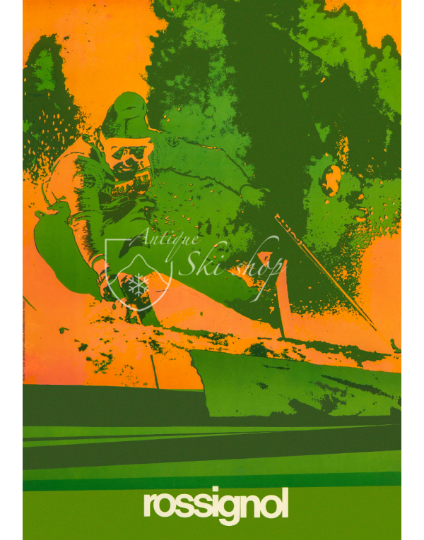 Vintage Ski Poster : ROSSIGNOL