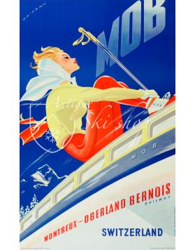 MONTREUX-OBERLAND BERNOIS (MOB) Nr. 2