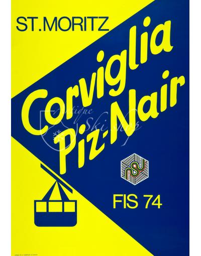 ST. MORITZ - CORVIGLIA PIZ-NAIR
