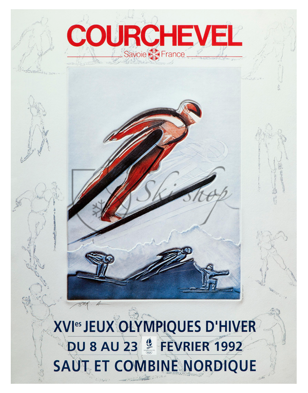 COURCHEVEL - 16th WINTER OLYMPIC GAMES
