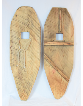 Antique hand made Indian Snowshoes