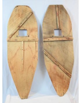 Antique handmade Indian Snowshoes