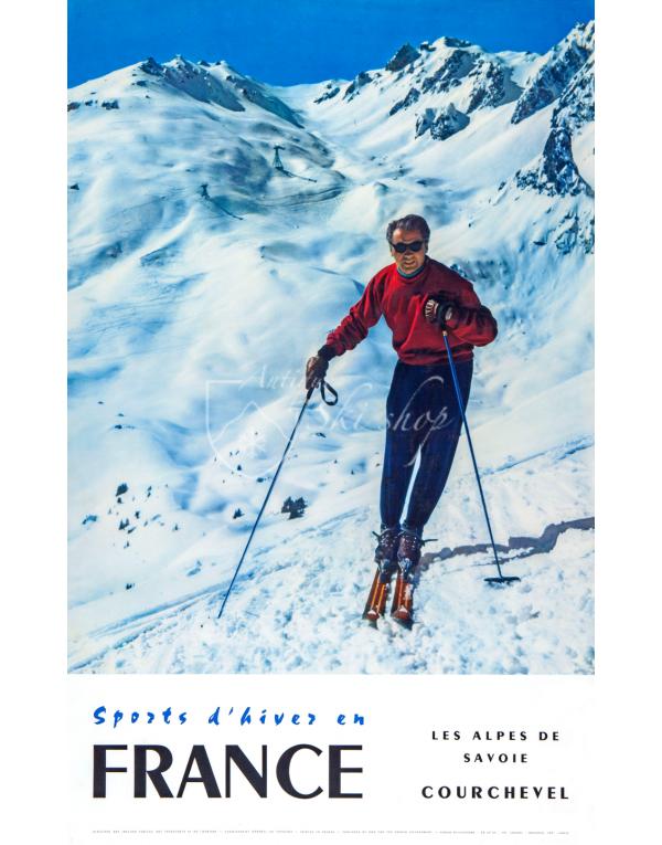 COURCHEVEL: Les Alpes de Savoie