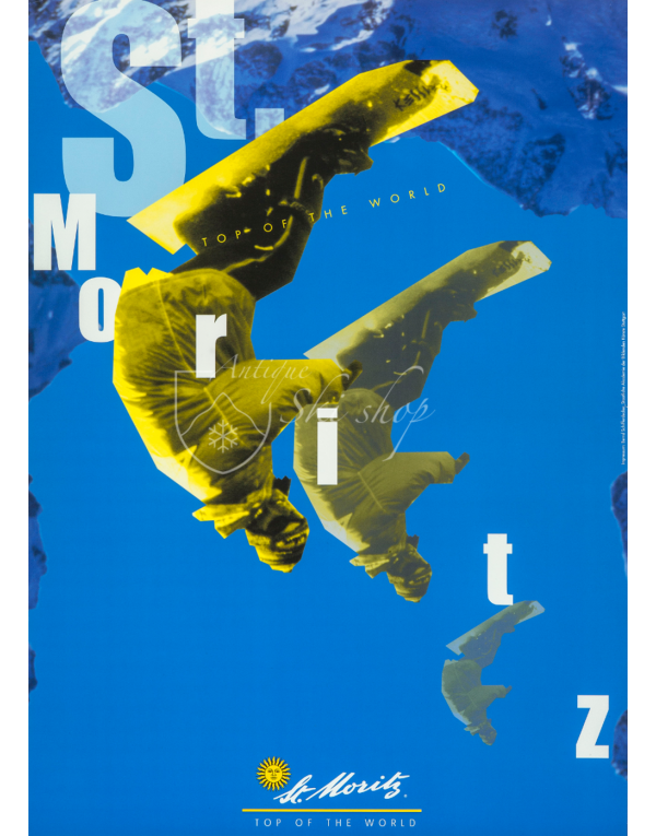 ST. MORITZ: SNOWBOARD