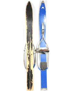 "Antique ""OLYMPIA"" Children Skis (Unrestored)"
