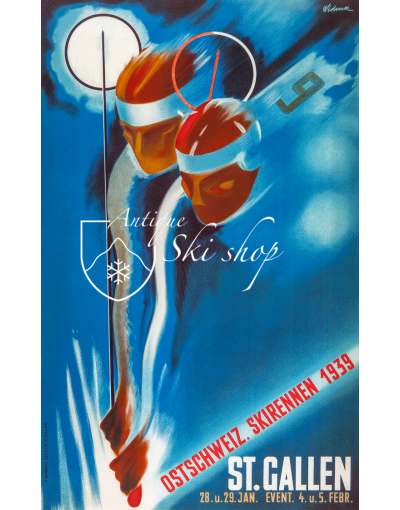 Ostschweiz Verbands Skirennen St Gallen 1939