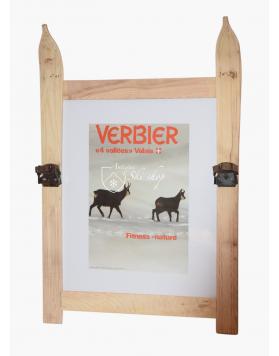 Vintage Swiss Ski Resort Poster : VERBIER