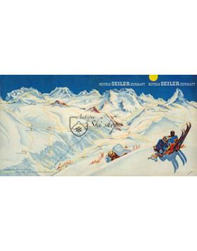 ZERMATT: PISTE MAP (Seiler Hotels)