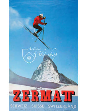 ZERMATT MATTERHORN SKI JUMP