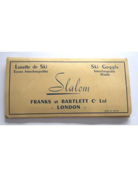 """Vintage """"Slalom"""" Ski Goggles"""
