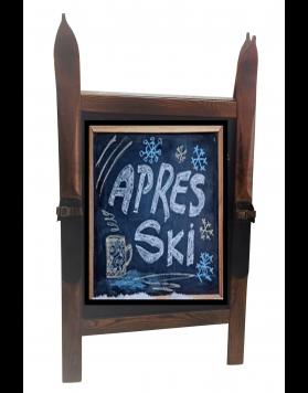 Vintage Ski Sandwich Chalkboard (also magnetic)