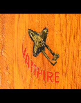 """Rare AUTHIER """"Vampire"""" Skis (Unrestored)"""