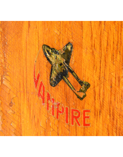 "Rare AUTHIER ""Vampire"" Skis (Unrestored)"