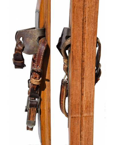 1920's Antique  Skis (Unrestored)