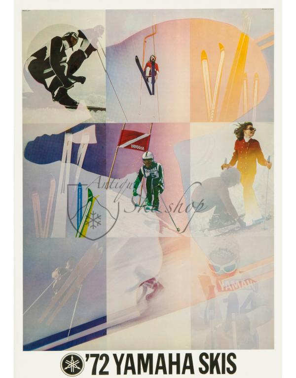 Vintage Ski  Poster : Yamaha Skis