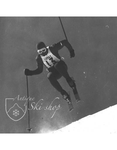 "Vintage Ski Photo - Gerhard Nenning ""Ski Jump"""