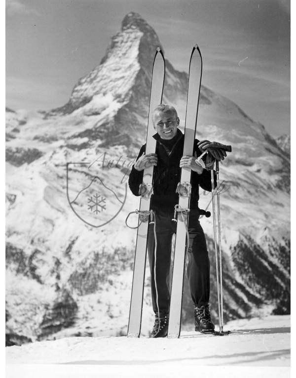 Vintage Ski Photo - Andreas Molterer