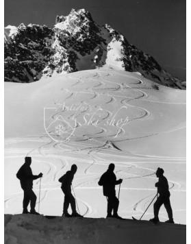 """Vintage Ski Photo - Die """"Roten Teufel"""" 2"""