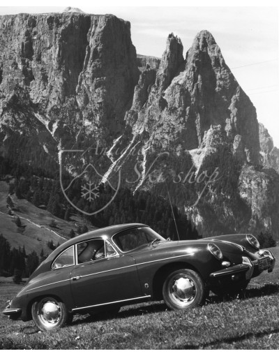 Vintage Car Photo - Porsche 356 in Meran
