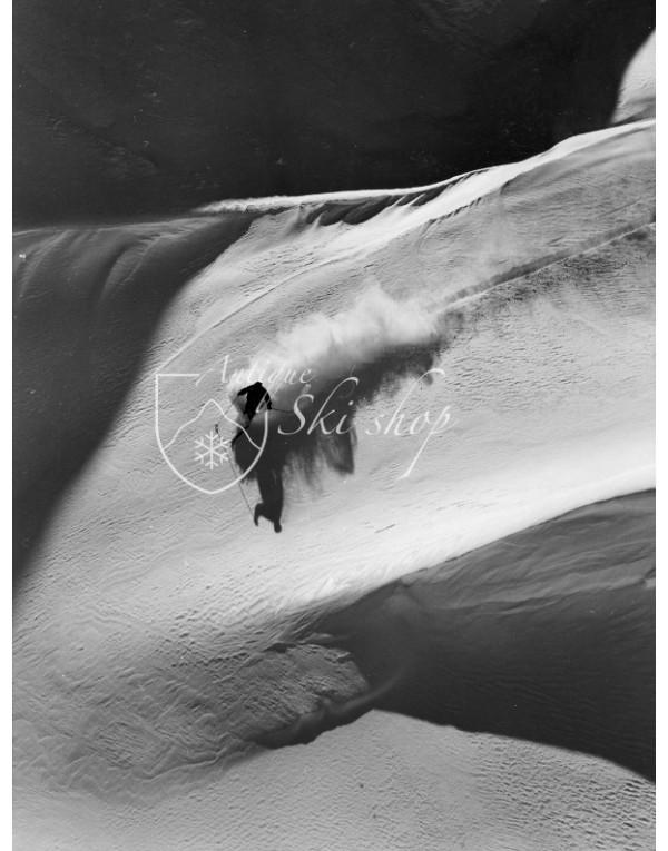 Vintage Ski Photo - Toni Sailer Powder 1